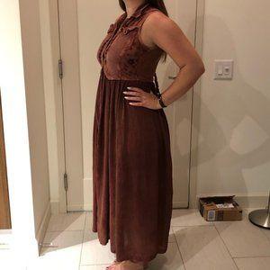 Boho Chic Maxi Dress Size Medium